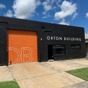 Orton Building Commercial Door