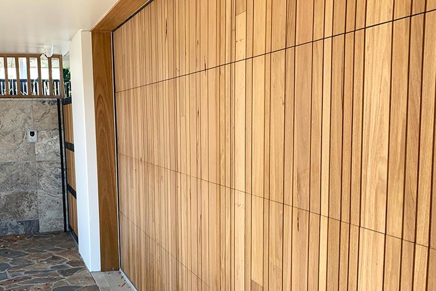 Delta Custom Blackbutt Panel Door