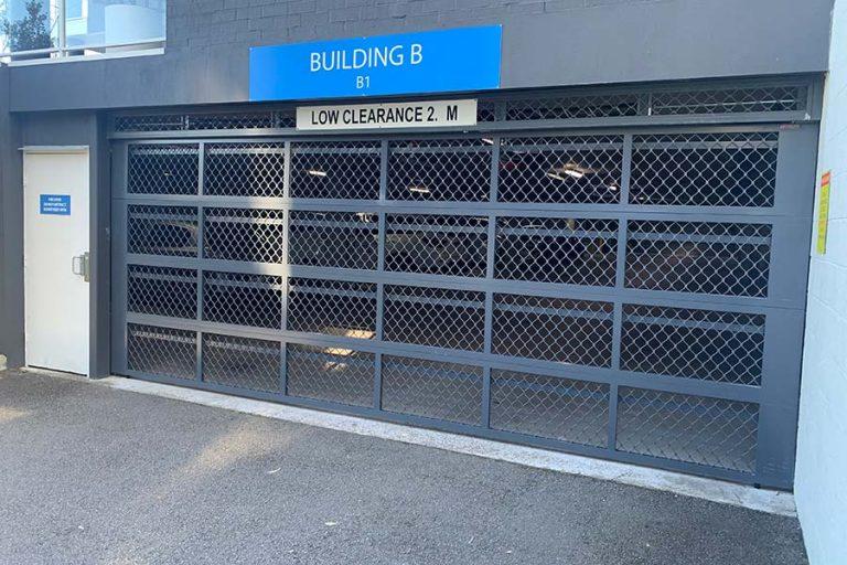 Carpark Commercial Door