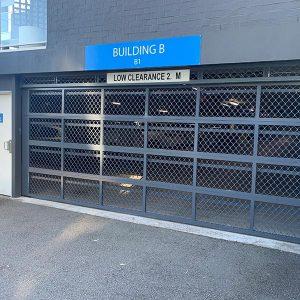 Carpark Commercial Panel Door