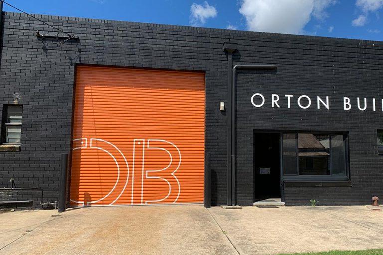 Orton Building Roller Door