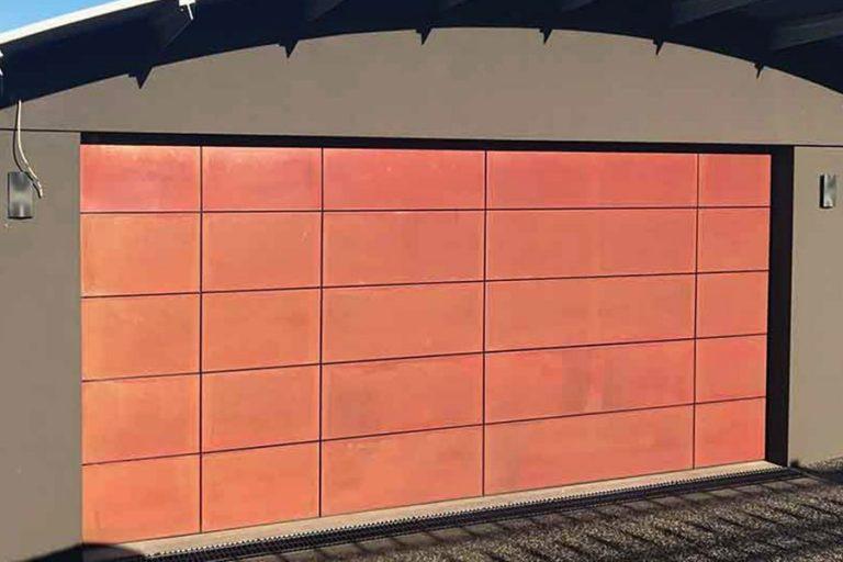Copper Door by Danmar