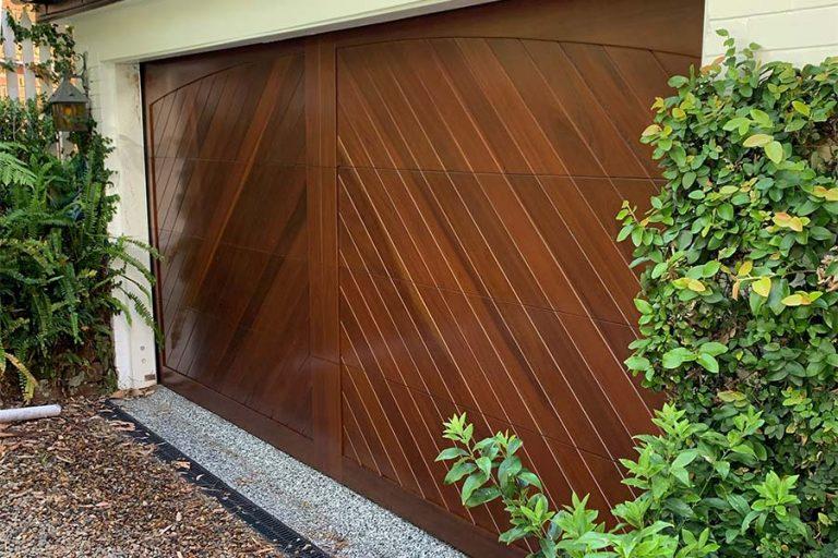 Herringbone Pattern Custom Door