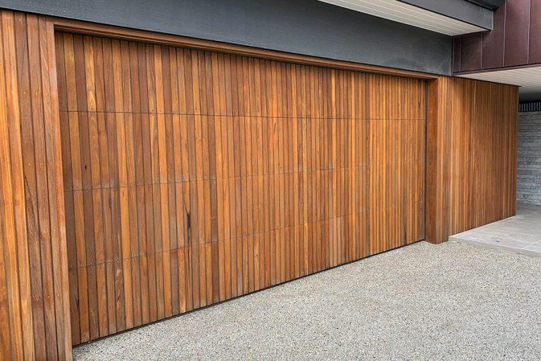 Delta Timber Garage Door