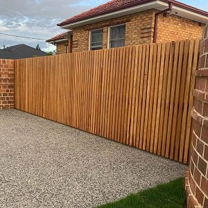 Residential Timber Sliding Gate