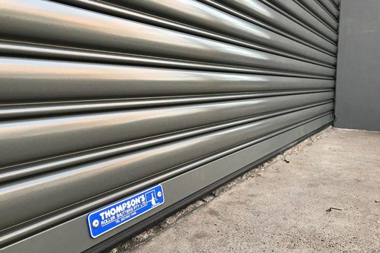 Commercial Thompsons' Roller Shutter Door