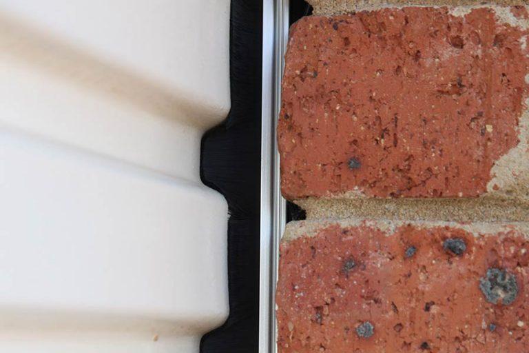 Cleverseal Brush Kit on Roller Door