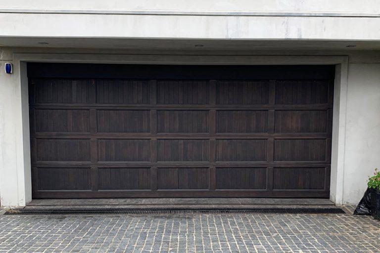 Recessed Danmar Door