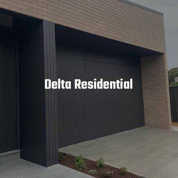 Delta Garage Door - Flushmount