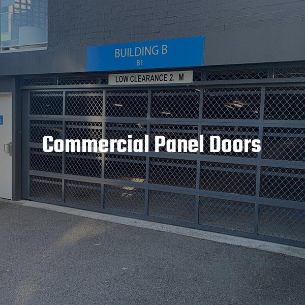 Commercial Panel Door for Carpark