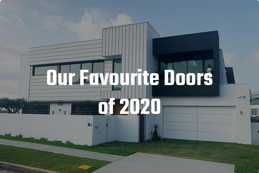 Favourite Garage Doors 2020