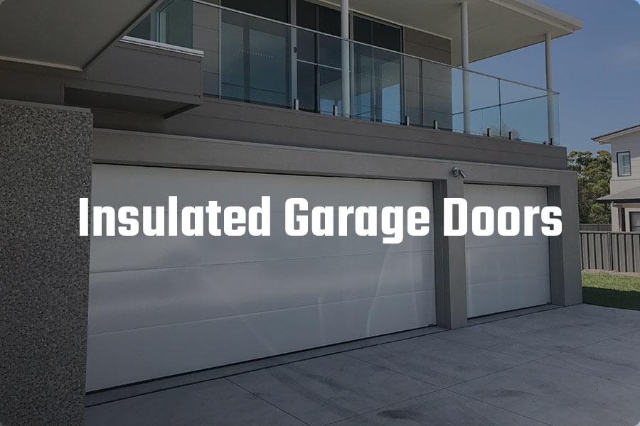Insulated Garage Door- Danmar Thermoflat