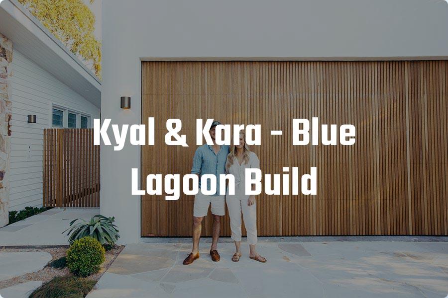 Kyal & Kara - Blue Lagoon Garage Door