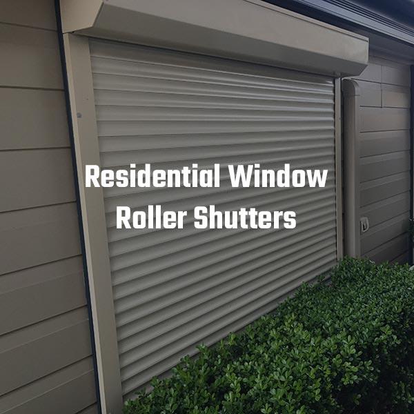 Residential Roller Shutters