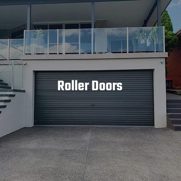 Gliderol Double Roller Door