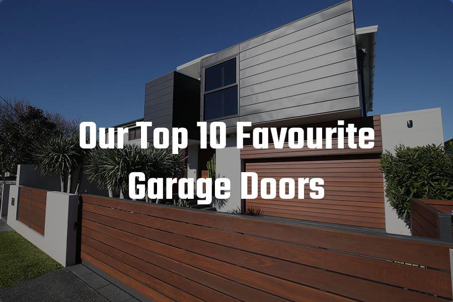 Top 10 Favourite Doors