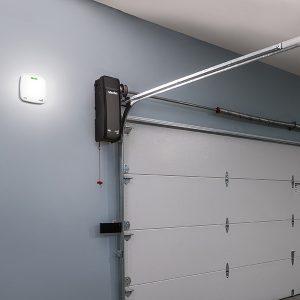 Residential Panel Door Opener on Wall