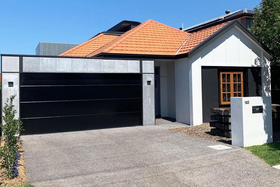 Black Danmar Door