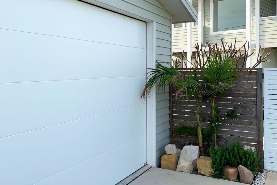 White Thermoflat Panel Door