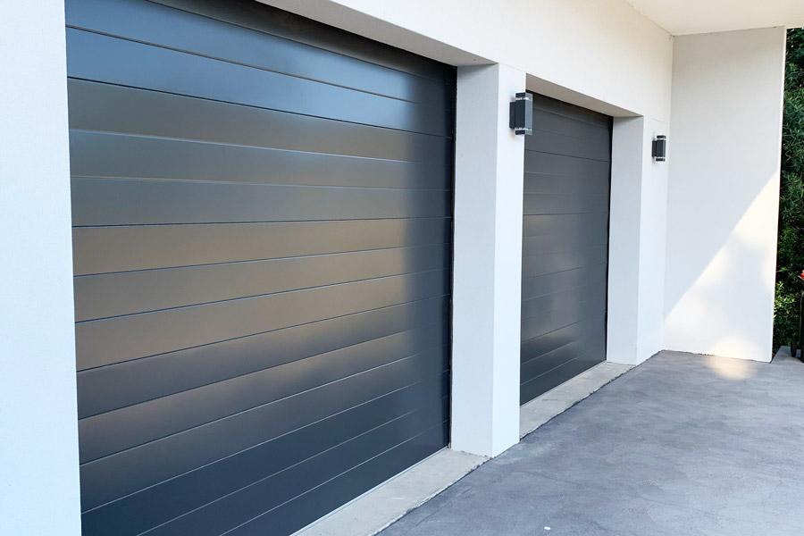 Tuscan Panel Doors - Black