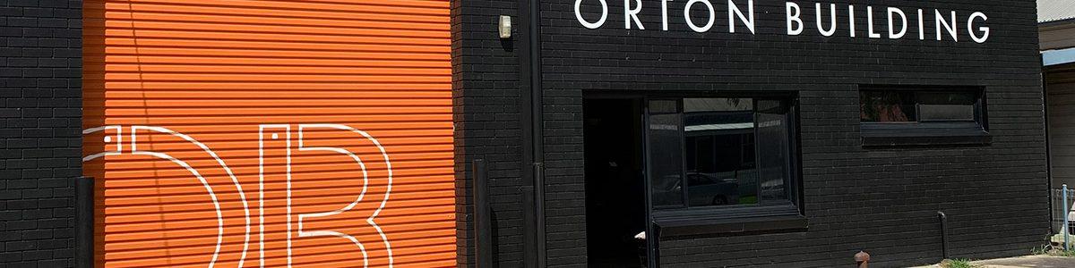 Commercial Garage Door for Orton Building